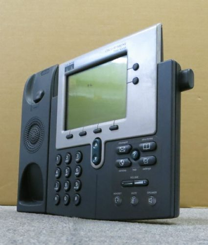 Cisco 7940G CP-7940G VoIP IP Display Telephone Phone Business Desktop NO Stand